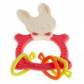 Прорезыватель ROXY-KIDS Bunny Teether RBT-001R коралловый
